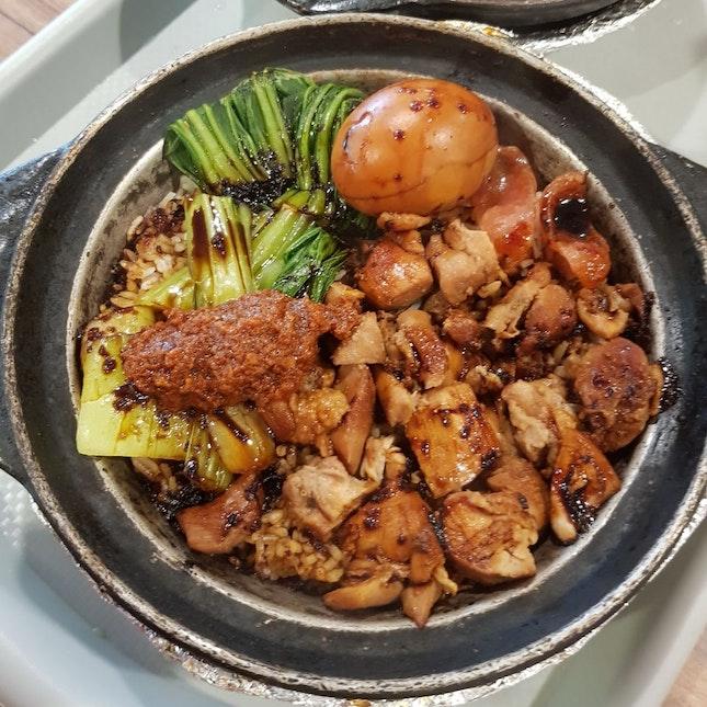 Claypot Chicken Rice!