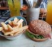 Grilled Chicken Breast Burger!