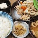 A tasty way of consuming your veggies with Yasai Itame Teishoku (10.90).