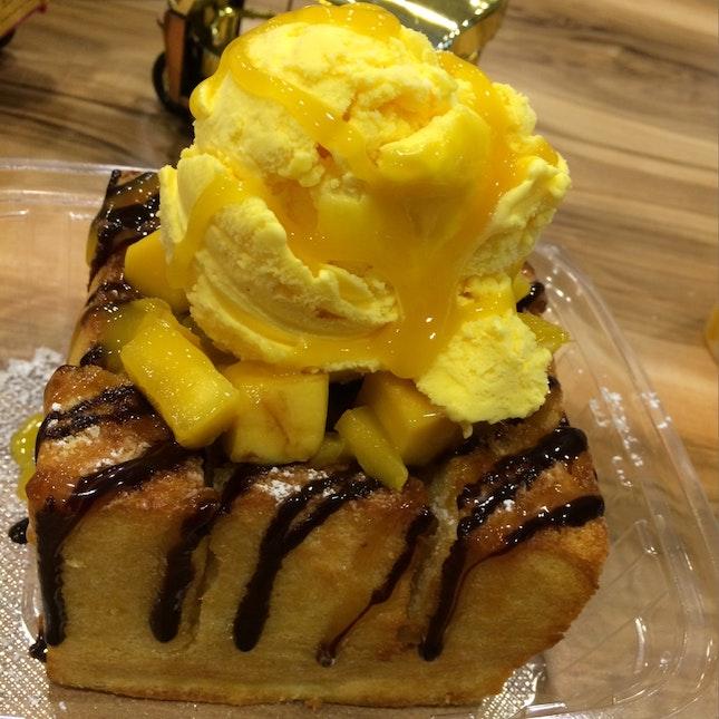 Mango Tango Shibuya Thick Toast
