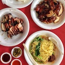 Chicken Noodle ($3.30), Char Siew Rice ($3.30)