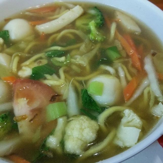 Seafood Soup Noodles