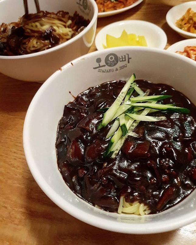 Obba Jjajang is hardly a purveyor of cutting-edge Korean fare, but its menu boasts an extensive range of homely Korean fusion dishes.
