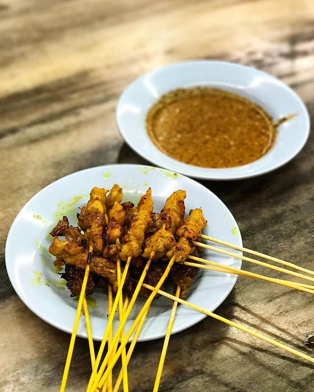 Pleasantly surprised by the satay here!