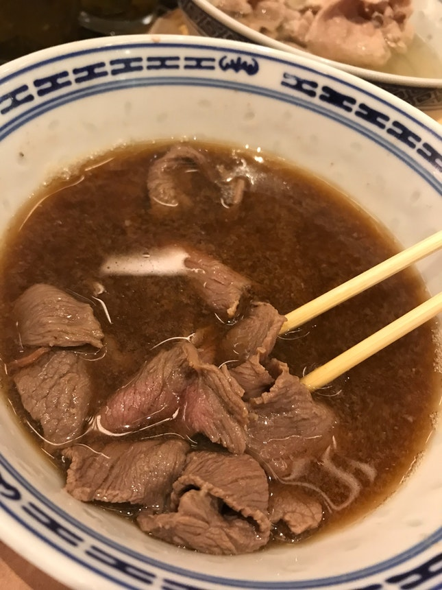 Beef Soup Lunch