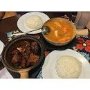 Claypot Golden Chicken And Claypot Tom yam Soup