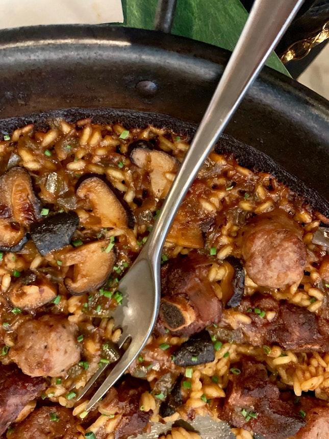 Iberian Pork Paella