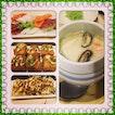#maiu#dinner#friends#chawanmushi#fish#fried#taufudelicious