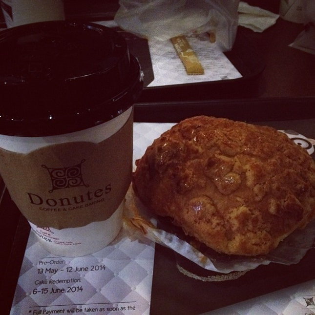 Nice place for bread and coffee in puchong  #coffee#bun#sunday#evening
