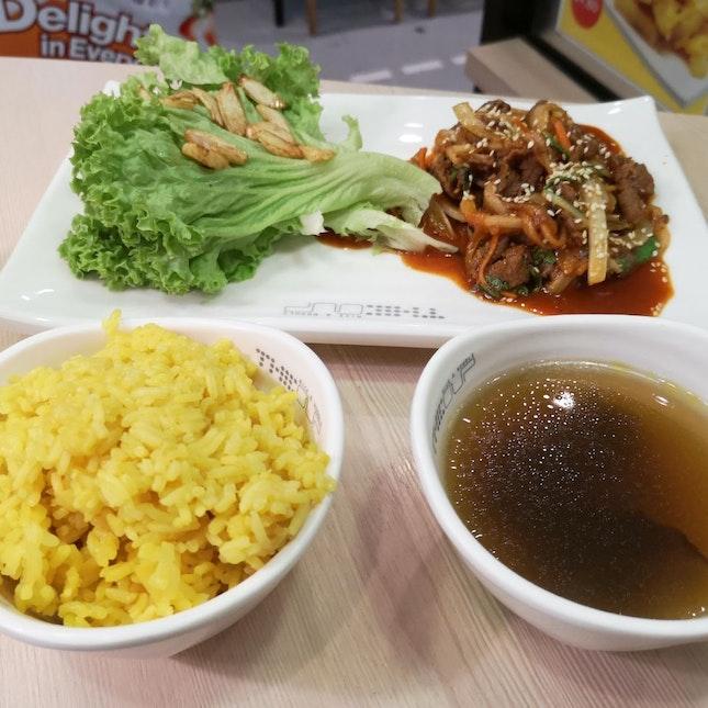 Bulgogi With Salad