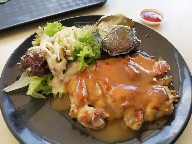 Char Grilled Chicken Chop