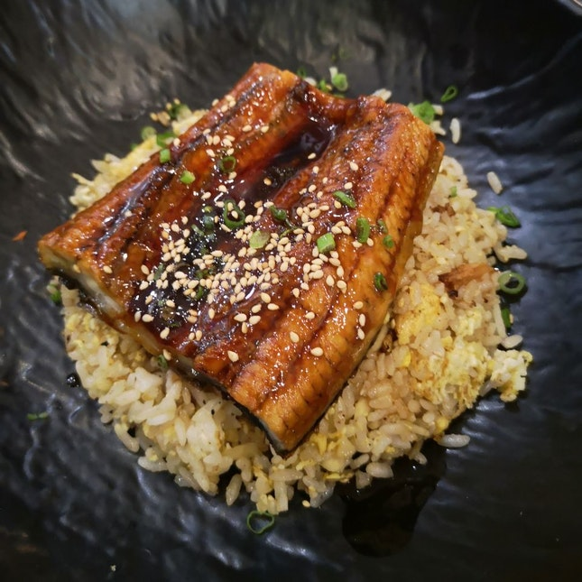 Unagi With Garlic Fried Rice