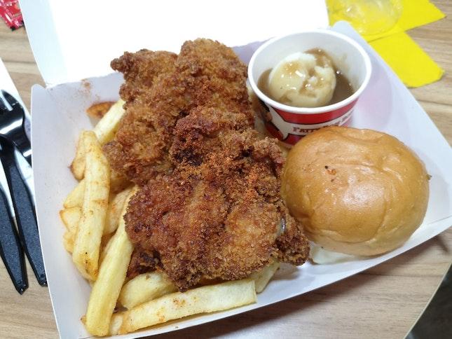 FattyBom Crunchy Chicken
