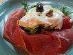 Burrata, Parma Ham