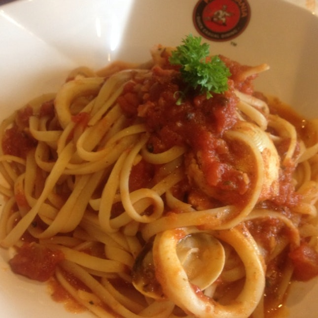 Seafood Pasta !