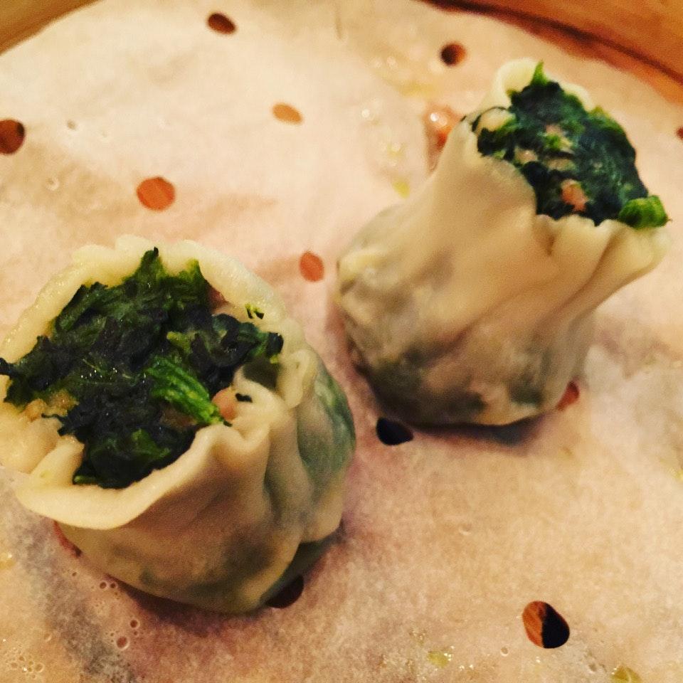 Pork & Spinach Dumpling