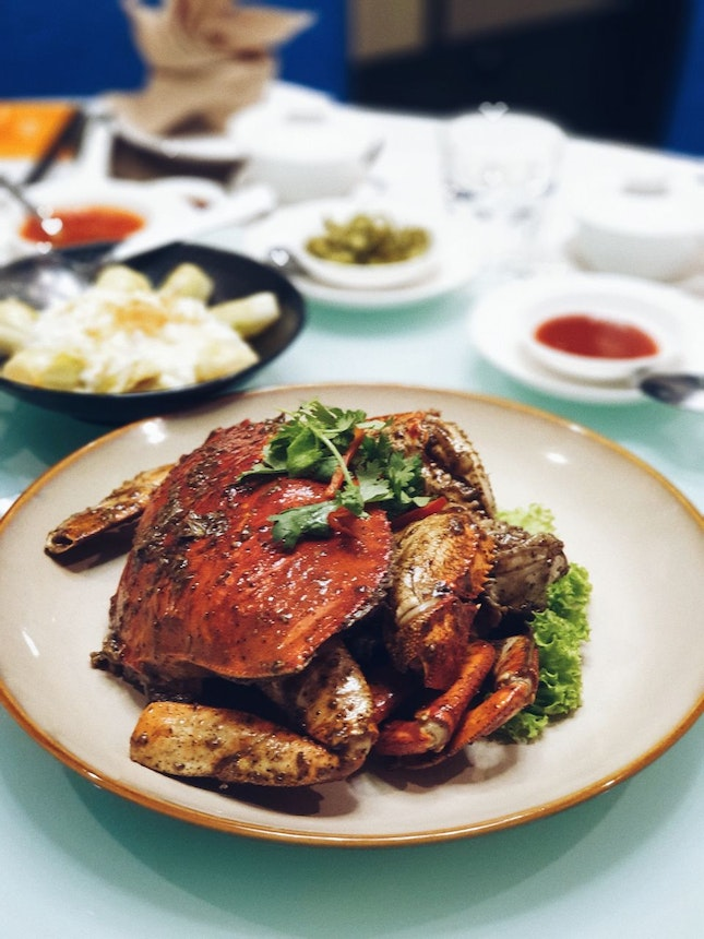 Black Pepper Crab [$78]