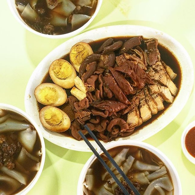 To-Ricos Kway Chap [about $4.50 per person] • Found this at Ci Yuan Hawker & Ci Yuan is officially my favourite place to go to now!