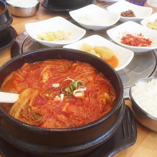 Kimchi Soup [$9.80] • I had this as a lunch set.