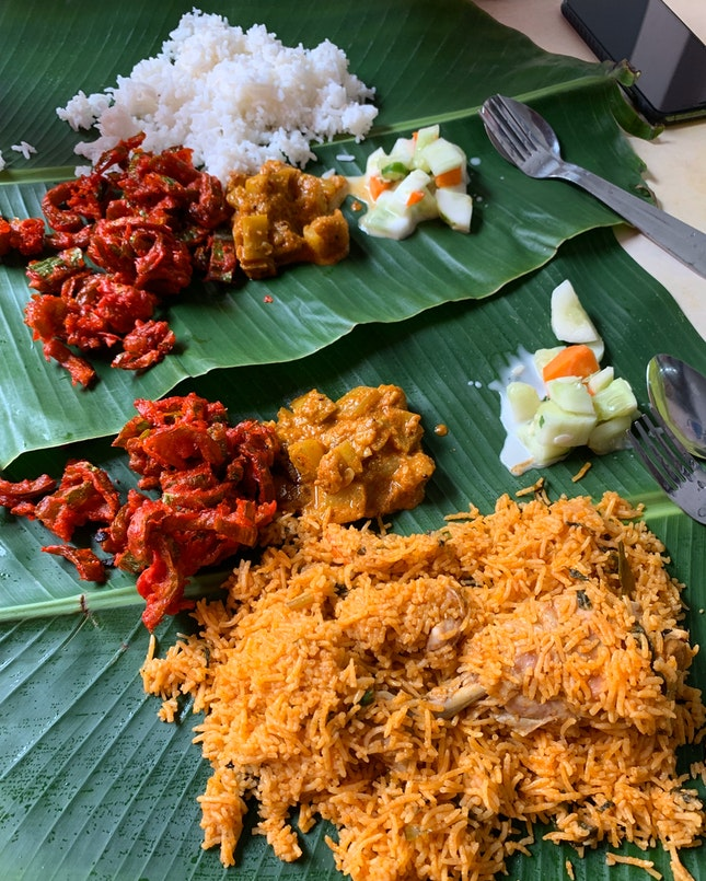 Chicken Briyani Rice Set