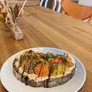 Hummus & Tomato Tartine (RM11)