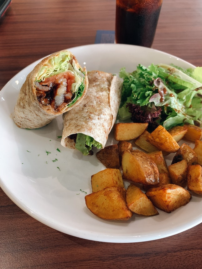Pork Belly Tortilla Wrap
