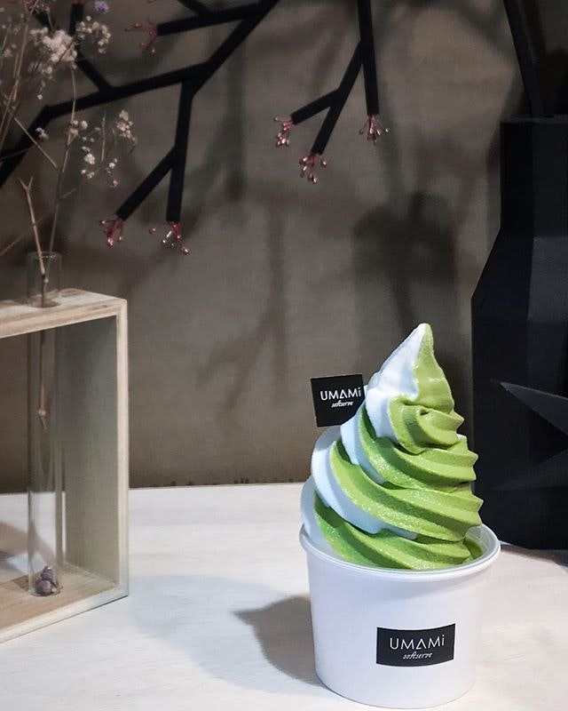 Matcha soft serve [RM10] .