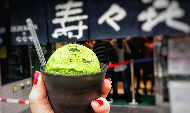 Matcha Ice Cream Level 4 #sogood #WithTheHoons #alinaeatstokyo #alinaeats #shiokness #burpple #instafood #webstagram #foodstagram #foodporn #foodstagram #whati8today #foodies #foodgasm #foodphotography #먹스타그램