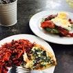 Veggie Quiche and Raw Energy Salad