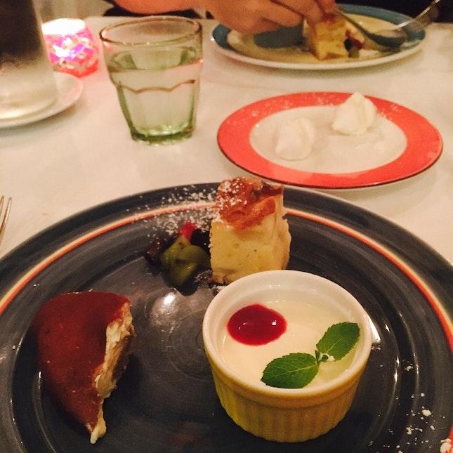 Desserts (No Menu)