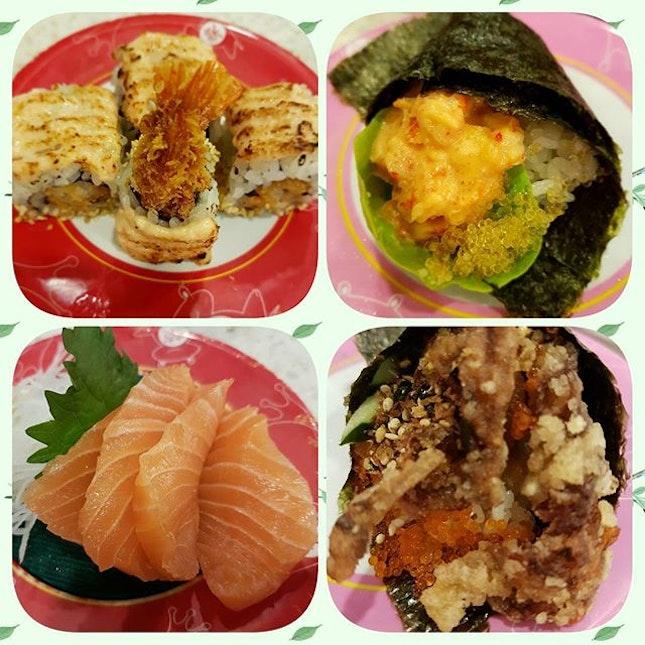 Loves salmon sashimi and everything aburi.Fresh and delicious  #sgfood #sgfoodies #yummy #sg #burpple #sushi #foodporn #food #brunch #foodlover #japanesefood #sakaesushi