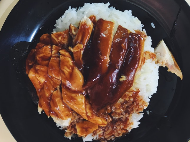hong kong soy sauce chicken rice (02-139)