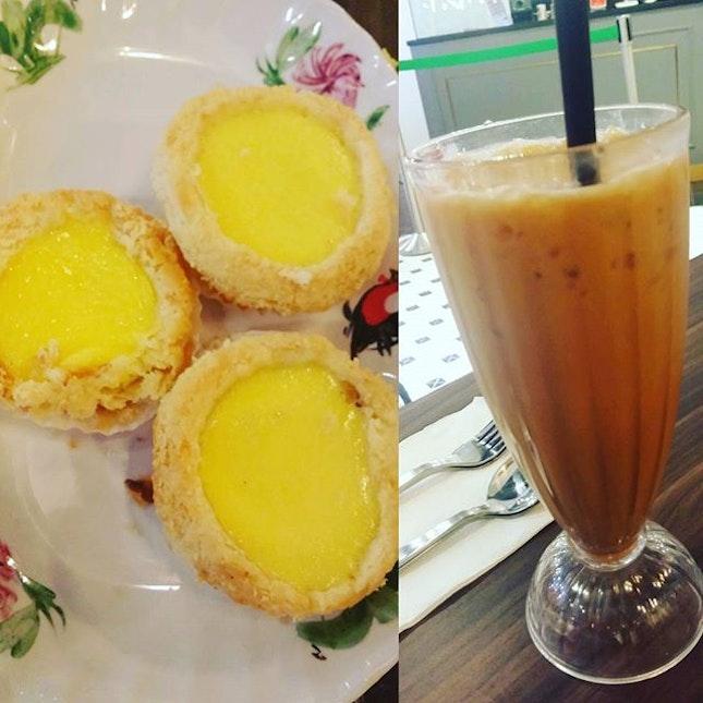 Of Egg Tarts and Yuan Yang