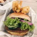 had satay burger the other day after a looong time; satay sauce was still as tasty w a nice soft and fluffy bun.