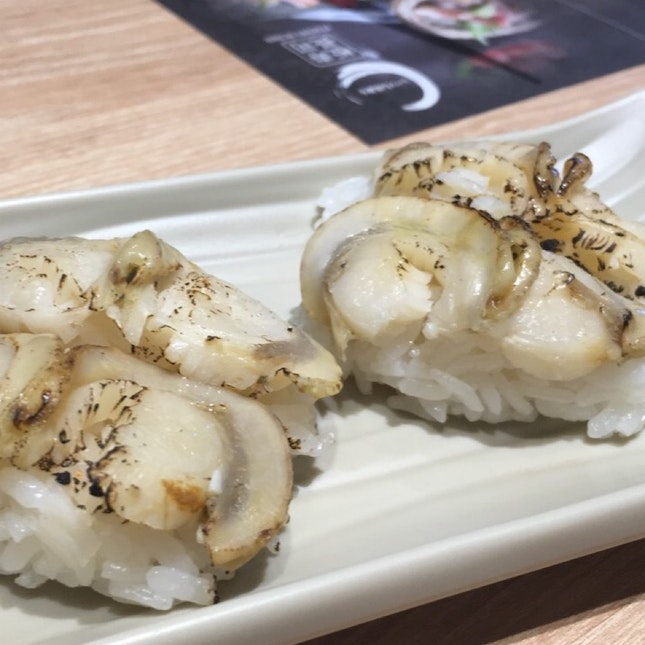 New grilled scallops sushi