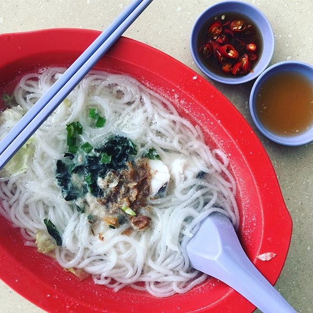 Fish Soup ($4.00) | The main fish soup shop is closed for the day, so here's goes...
