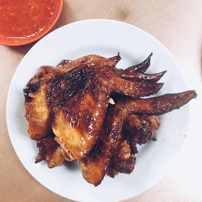 Say hello to the best chicken wing on the street...?
