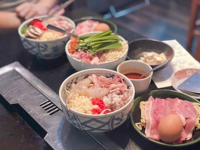 Finally it's Friyay 🎉 #throwback to meals in Japan, DIY okonomiyaki and our master chef skills 👩🏻🍳👨🍳 😋😛🤪 Swipe right ➡️ for the secret recipe - Pictured: Sukura Yaki (¥1400) • Pork, squid, shrimp, egg, mushroom  Pork Lomchi Monja (¥1200) • Pork, kimchi, cheese, tofu  Special Modern Yaki (¥1400) • Pork, shrimp, squid, yakisoba noodles - #buzzfeast #dailyfoodfeed #delicious #eeeeeats #feedfeed #foodbeast #foodgasm #foodiegram #foodielife #foodiesofinstagram #foodlover #foodography #foodpic #foodpics #onthetable #heresmyfood #instayum #smartfoodchoices #tastemade #foodphotography #foodblogger #fooddiary #foodforfoodies #hungrygowhere #tripadvisor #chope #burpple
