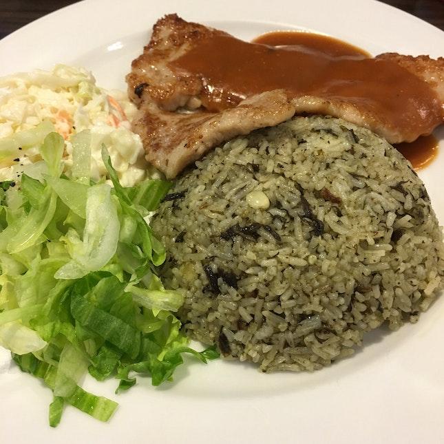 Olive Rice w/ Pork