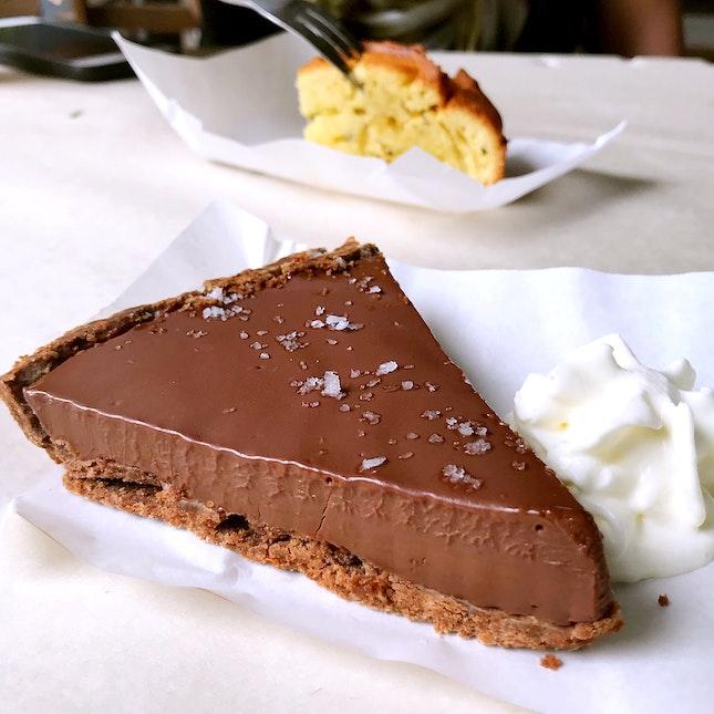 Chocolate Tart ($8)