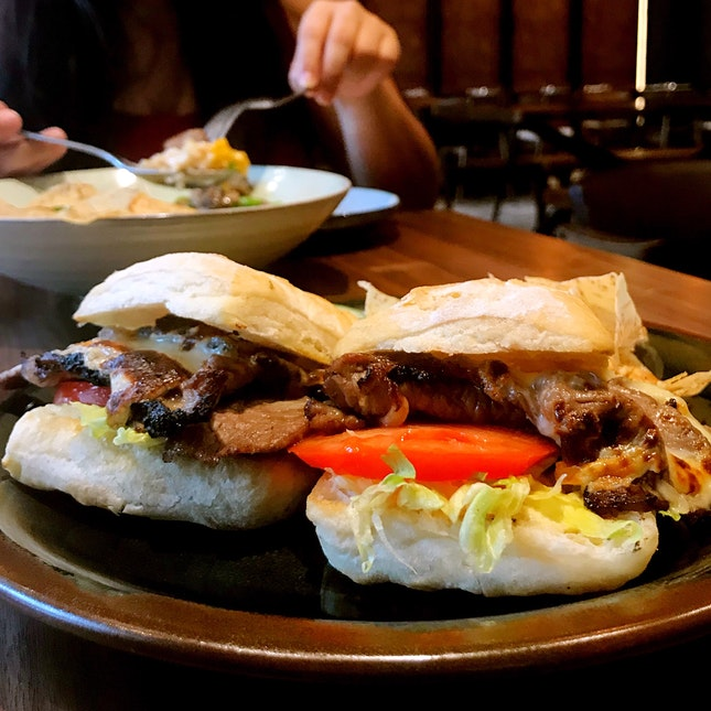 Black Angus Steak Sandwich ($16)