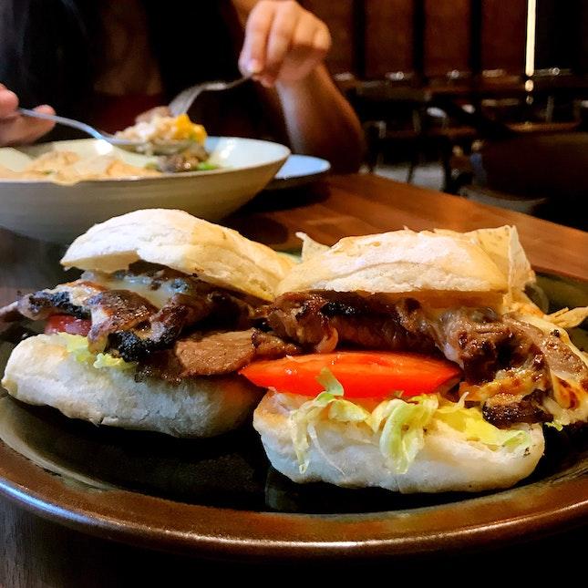 Black Angus Steak Sandwich ($16)