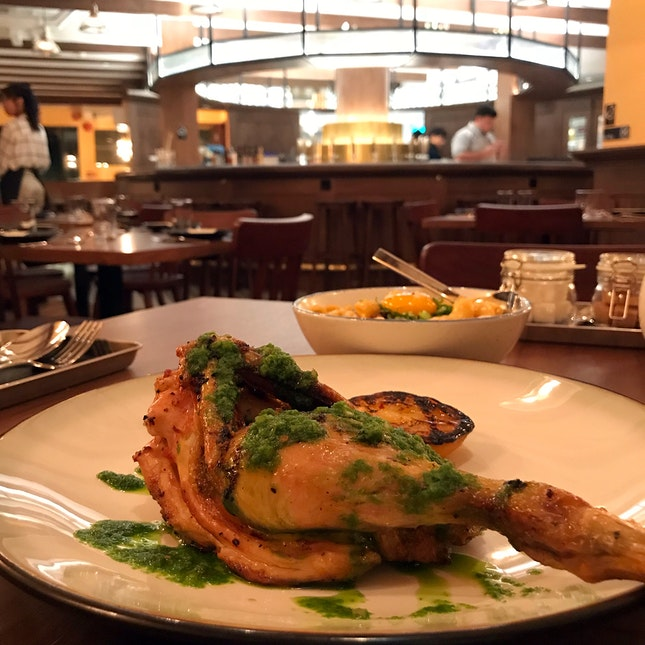 Butter Roasted Chicken ($25)