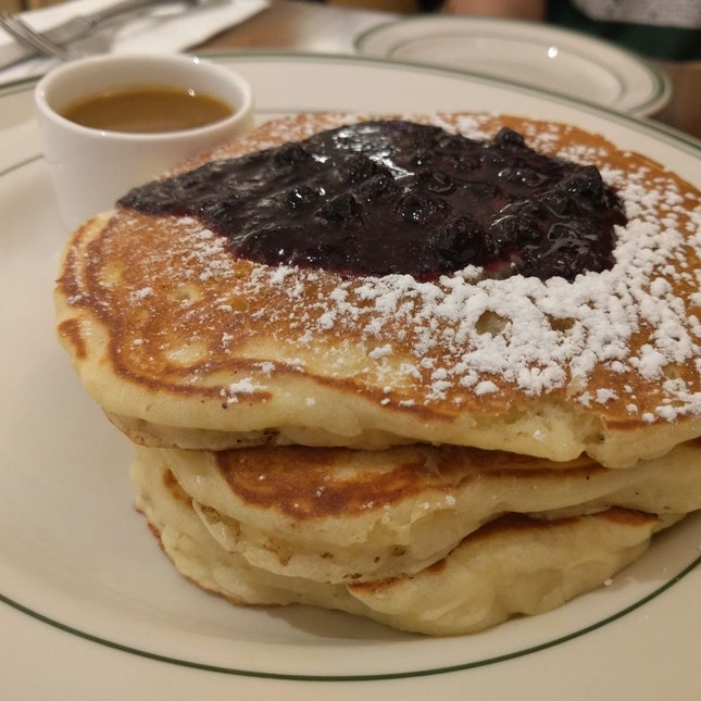 Pancake With Bluberries $18