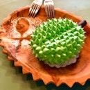 Spikey Durian Shape Cake $8.80