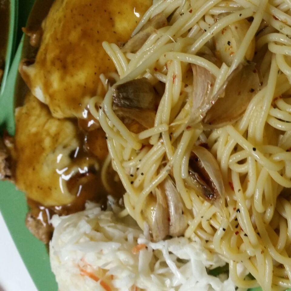 Cheesy Chicken Chop with Pasta