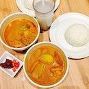 A curry chicken night!