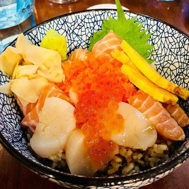 Getting some good sashimi fix!