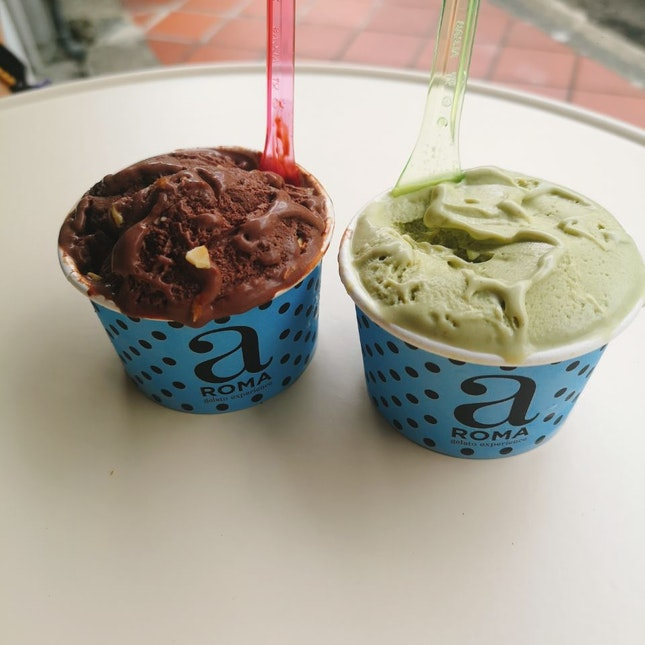 Best pistachio gelato!