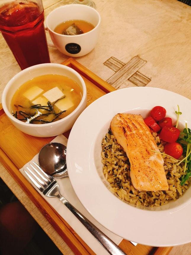 Salmon Bro-shi Bowl